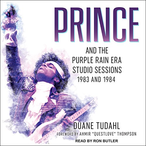 Prince and the Purple Rain Era Studio Sessions audiobook cover art