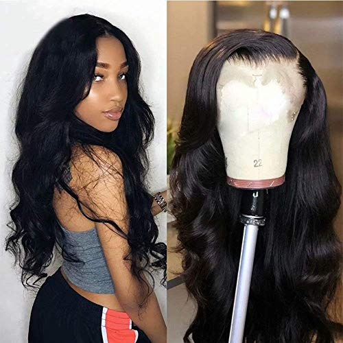 Maxine Body Wave 360 Lace Frontal Wig Pre Plucked With Baby Hair Unprocessed 10a Brazilian Virgin Human Hair Wigs For Women Glueless Wigs Slightly Bleached Knots (12 Inch, 360 Lace Wig)