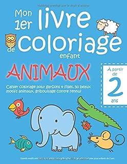 Amazon Fr Coloriage 2 Ans