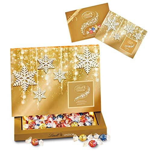 T&Sprungli Scatola Cioccolatini Assortiti 350G Confezione Natale