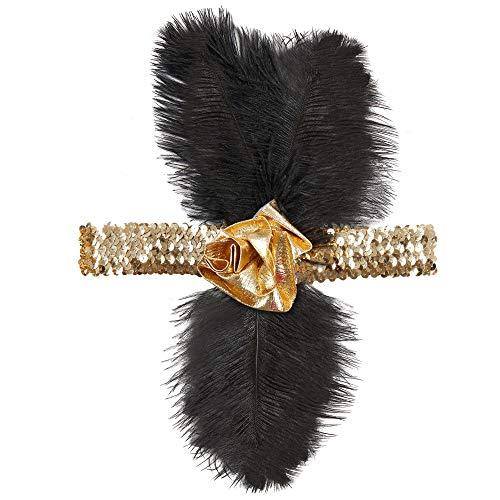 Widmann - Charleston Stirnband mit Pailletten für Damen