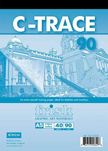 Frisk C-Trace 90 gsm A5 40s, Tranparent