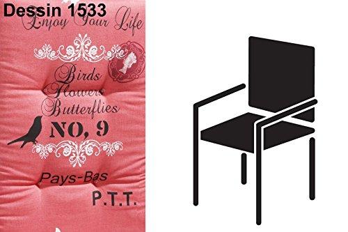 BEST 04101533 stoelkussen Nieder STS 100 x 50 x 7 cm, D.1533