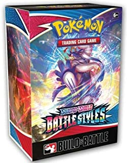 Pokemon TCG Build and Battle Kit Box - Sword Shield 05 Battle Styles - 4 Packs & Promos