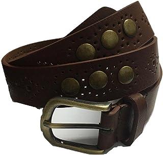 light Brown Leather Belt For Women