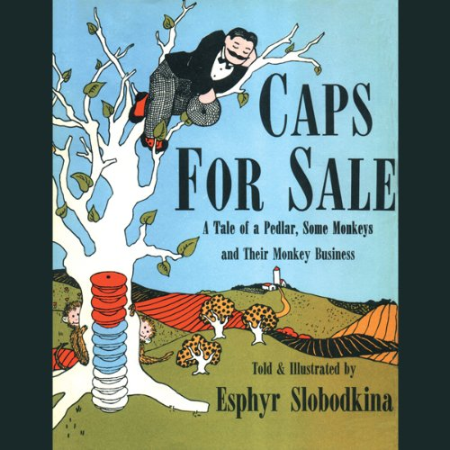 Caps for Sale audiobook cover art