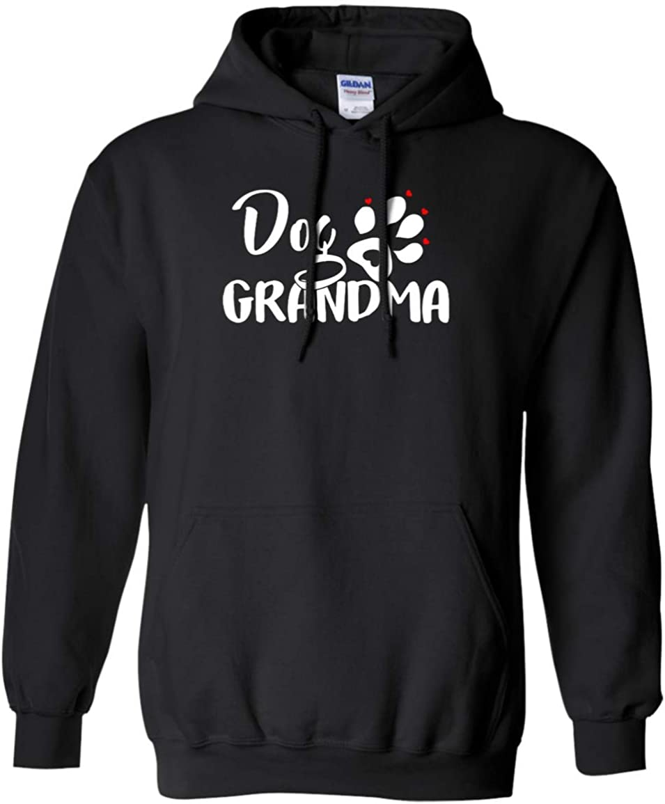 Best Portland Mall Gift for Grandma Limited time for free shipping Paw Hoodie Dog Doggrandma