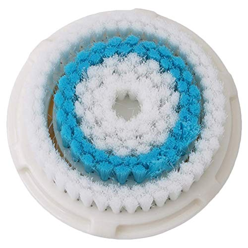 Facial Cleansing Brush Head Replacement, Facial Cleansing Brush Head, Exfoliator Facial Brush Head, For Clogged and Enlarged Pores(blue)