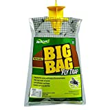 RESCUE! Big Bag Fly Trap – Large Capacity Disposable Outdoor Hanging Fly Trap