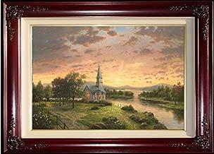 Thomas Kinkade ~~ Sunrise Chapel S/N 18x27