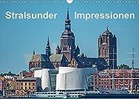Stralsunder Impressionen (Wandkalender 2022 DIN A3 quer): Ansichten der Hansestadt Stralsund (Monatskalender, 14 Seiten )