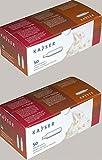 100 Stück N2O Sahnekapseln von Kayser passend für alle handelsüblichen Sahnebereiter von Kayser, isi, Liss, Mosa