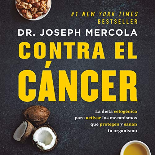 Contra el cáncer [Against Cancer] audiobook cover art