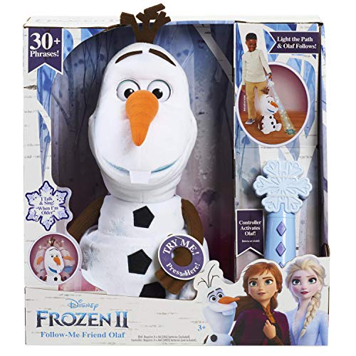 Frozen Disney 2 Follow-Me Friend Olaf JungleDealsBlog.com