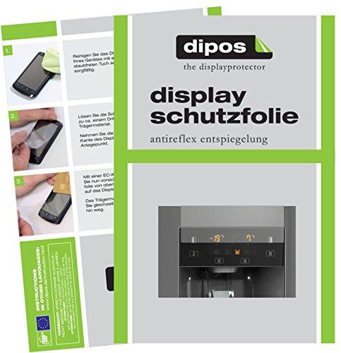 dipos I 2X Schutzfolie matt kompatibel mit Gorenje NRS9181CXB Folie Displayschutzfolie