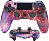 Game Handle PS4 Playstation PS4 Controlador de Bluetooth inalámbrico de PS4 Juego de Job Rod 4 Pro/Slim/PC/iPad/Tablet/Steam,E
