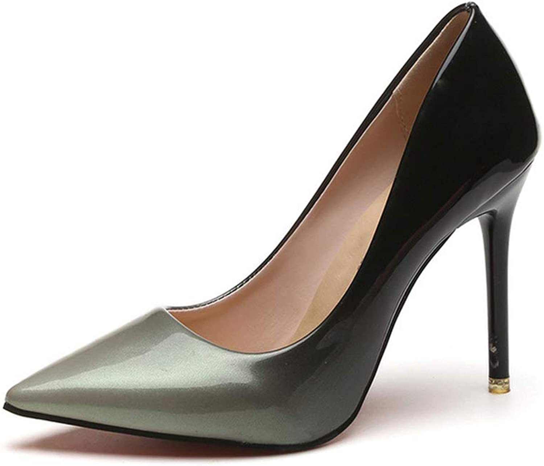 Cici shoes Fashion Cusp high-Heeled shoes Nightclub Sexy Stiletto Heel Shallow Mouth Pump