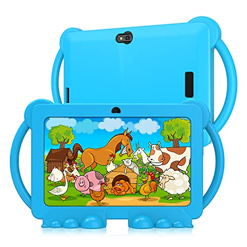 Tableta infantil, tablet de 7 pulgadas para niños, tableta Android 9.0 GMS, 3 GB RAM 32 GB ROM Kids Edition Tablet con WiFi, juego 3D...