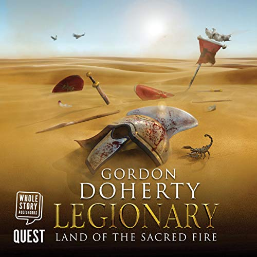 Legionary: Land of the Sacred Fire cover art