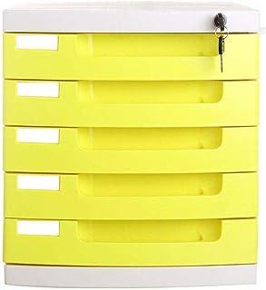 Armoires à 5 tiroirs de rangement de données de bureau Boîte de rangement de rangement pour armoire de classement – Multic...