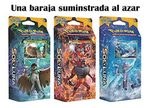 Pokemon JCC - Juego de Cartas Sol y Luna, Español (1 Baraja al Azar)