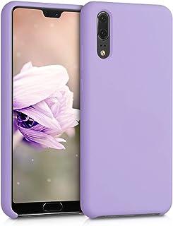 kwmobile Funda Compatible con Huawei P20 - Carcasa de TPU para móvil - Cover Trasero en Lila