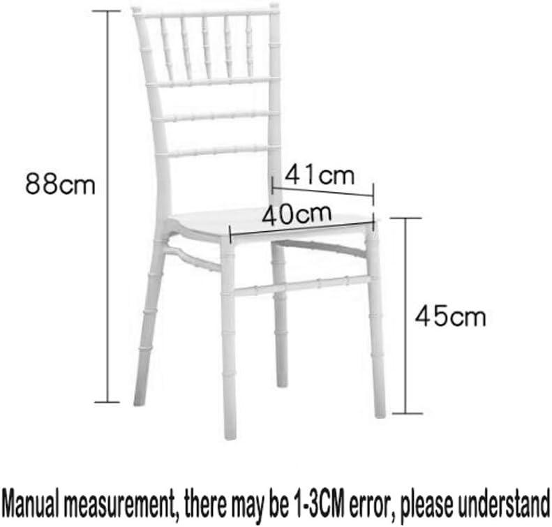SLL- Chaise Dossier Chaise de Bureau Moderne Simple Adultes Ménage Restaurant Tabouret Chaise À Manger Café Tables Et Chaises Moderne (Color : C) C