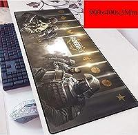 ゲーミングマウスマットラージマウスマットマウスマット、スピードゲーミングマウスパッド、3ミリメートル厚のベースと拡張XXL大きなマウスマット、ノートPC向け、PC (Color : I)