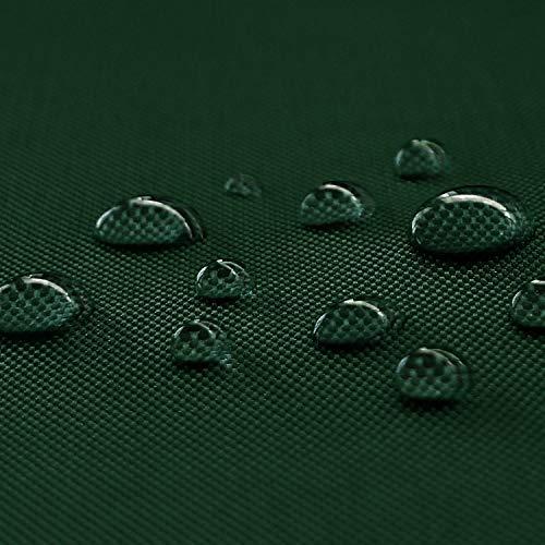 NOVELY Oxford 600D Polyester Stoff Outdoor wasserdicht Meterware Segeltuch PVC: Farbe: 32 Dunkelgrün