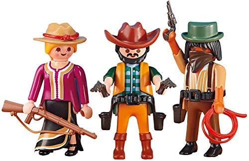 Vaqueros y bandido Playmobil