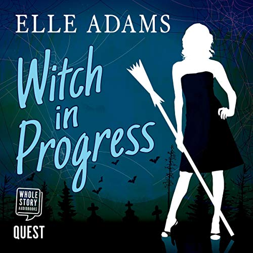 Witch in Progress audiobook cover art