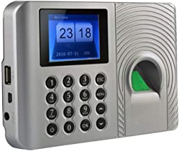 Time Attendance Machine Office Electronics Biometric Fingerprint Time Attendance Clock Employee Digital Electronic Voice R...