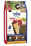 bosch HPC Mini Adult mit Lamm & Reis   Hundetrockenfutter für ausgewachsene Hunde kleiner Rassen, 1 x 1 kg