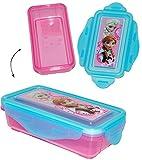 alles-meine.de GmbH Keksdose / Zahnspangendose / Obstbox - Disney die Eiskönigin - Frozen - Box - Küche Essen / Vorratsdose für Mädchen & Jungen - Kinder kleine Vesperdose - ..