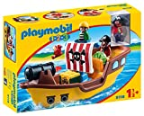 Playmobil Playmobil-9118 1.2.3 Barco Pirata, (9118)