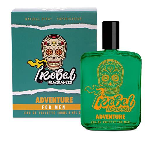 REBEL - Fragancia Adventure Hombre - Eau de Toilette - 100 ml