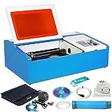 ZauberLu 40W Lasergravurmaschine Graviermaschine mit USB-Anschluss CO2 Lasergravierer Laser Engraver...