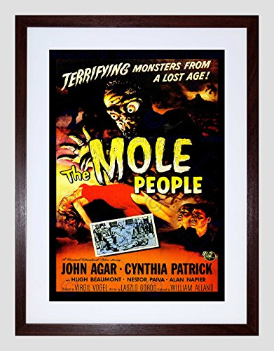 Wee Blauwe Coo Film Mol Mensen Monster Horror Agar Patrick Ingelijste Muur Art Print