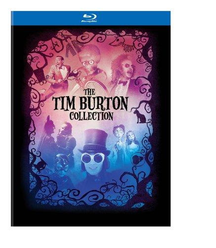 Burton Collection Hardcover Book Blu ray