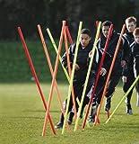 Precision Training Football Agility Training Boundary Poles Set of 12