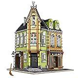 ColiCor Modelo de Construcción de Bloques 3474 Pcs Grand Emporium Edificios de Juguete Construcción Edificio de...