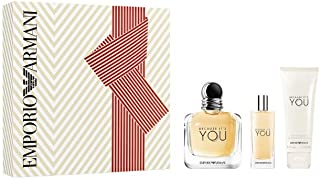 Giorgio Armani Armani Because Its You Eau de Parfum 100 ml + Eau de Parfum 15 ml + Leche Corporal 75 ml - 190 ml