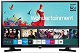 Samsung 80 cm (32 Inches) Wondertainment Series HD Ready LED Smart TV UA32T4340AKXXL (Glossy Black)...