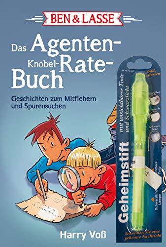 Image of Ben & Lasse - Das Agenten-Knobel-Rate-Buch: Geschichten zum Mitfiebern und Spurensuchen