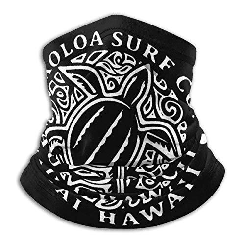 Bklzzjc Surf Hawaiian Turtle Honu Unisex Bufanda Deportiva a Prueba de Viento Calentador de Cuello al Aire Libre Bandana Pasamontañas Sombreros