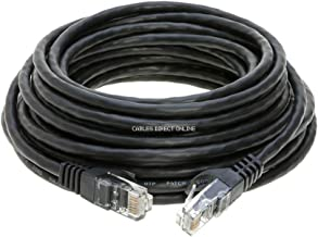 Cables Direct Online Snagless Cat6 Ethernet Network Patch Cable Black 25 Feet