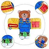 Lernbrett Für Kleidung, Kinder Lernspiele Fädelspiel Pädagogisches Lernspielzeug, Schnürsenkel Binden Lernen, Praktische Fähigkeiten Entwickeln, Ideal Zum Schleifen Lernen