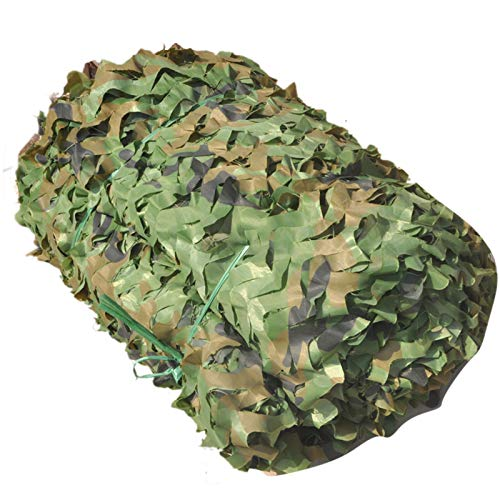 GXING Woodland Desert Camouflage Net, Blind Camouflage Net For Camping, Outdoor Sun, Theme Party Decoration, Car Covers Camouflage Netting