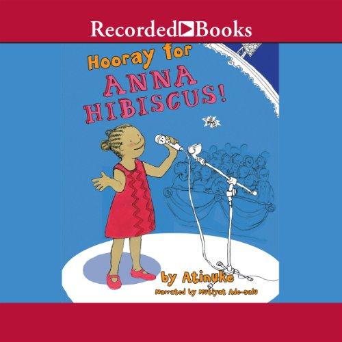 Hooray for Anna Hibiscus audiobook cover art