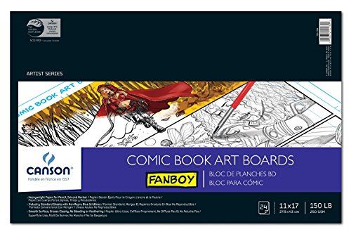 Fanboy Comic Book Tablas de Art 11 x 17
